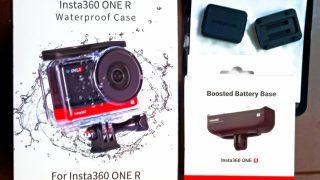 insta360用アクセサリー購入